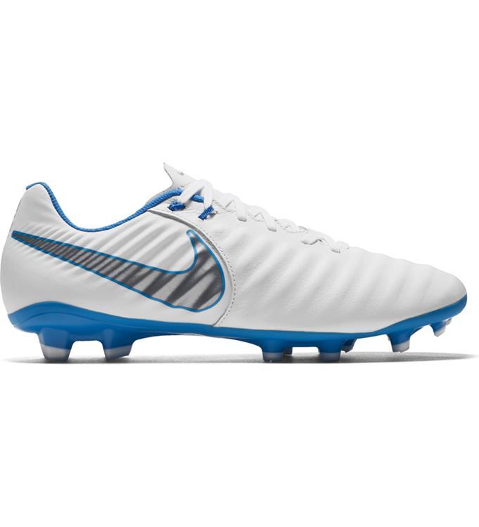 Wit blauwe  voetbalschoen Nike Legend 7 Academy FG - AH7242-107