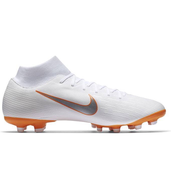 Wit Oranje Voetbalschoen Nike SUPERFLY 6 ACADEMY MG - AH7362-107