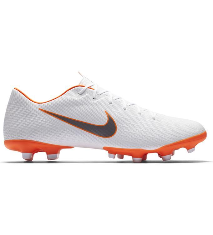 Wit Oranje Voetbalschoen Nike VAPOR 12 ACADEMY MG - AH7375-107