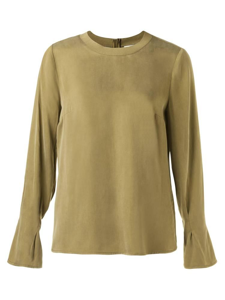 Groene dames blouse YAYA - 190125-823