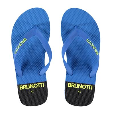 blauwe sliper Brunotti Enso Ultra blue
