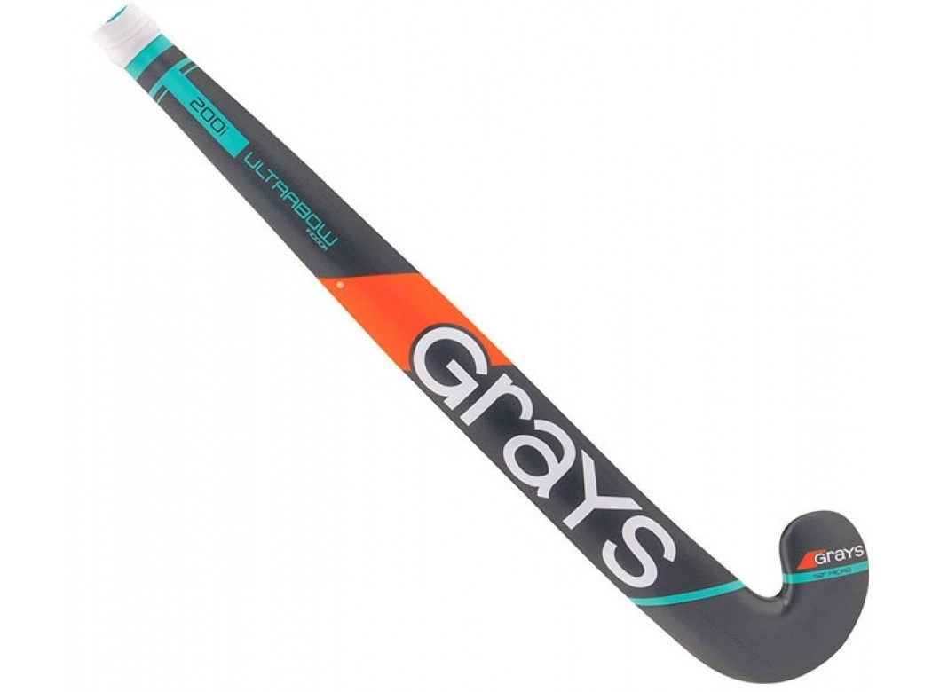 Grijs blauwe zaalstick Grays 200i Ultrabow - 22990 STD