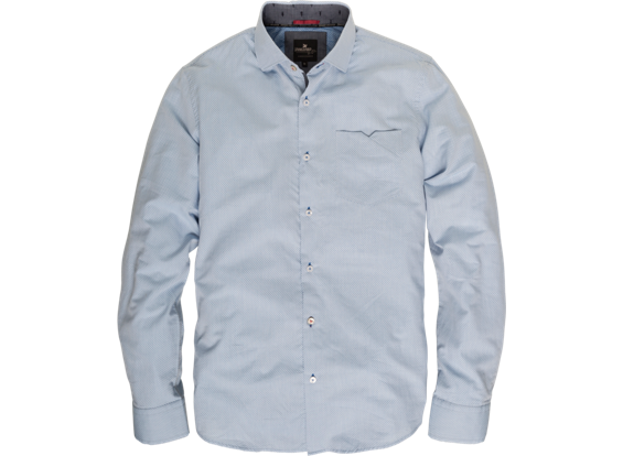Lichtblauw langemouw overhemd Vanguard VSI62404 5068