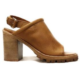 Bruine dames sandalette Shabbies - 163020003