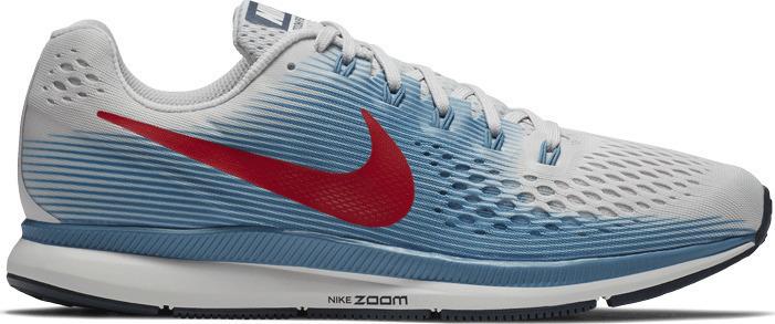 new styles c28be a98cb Grijs blauwe heren hardloopschoen Nike Air zoom Pegasus 34 880555-016