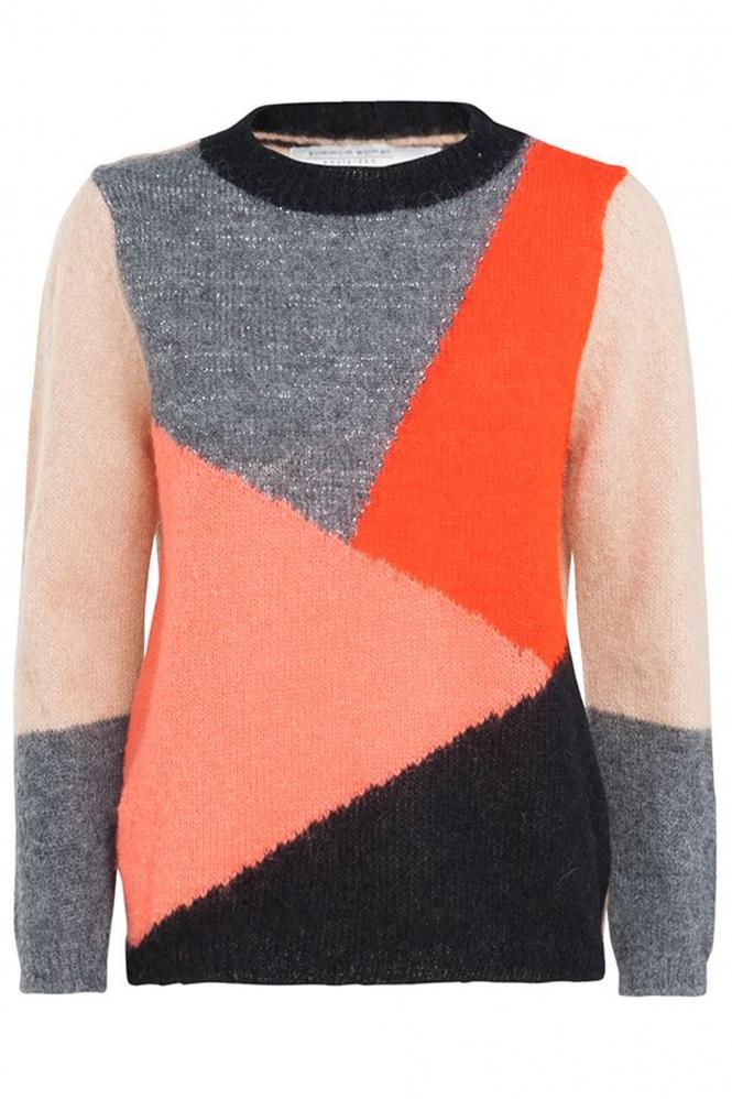 Multi kleurige dames trui Summum - 7S5369-7674