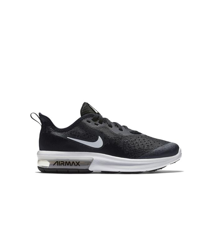 Zwarte Kinderschoenen Nike Air Max Sequent - BQ5777 001