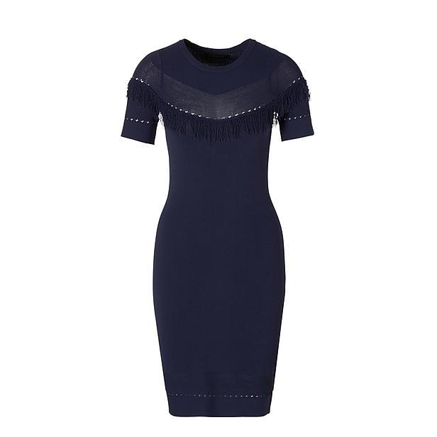 Donkerblauwe dames jurk Supertrash - Dash