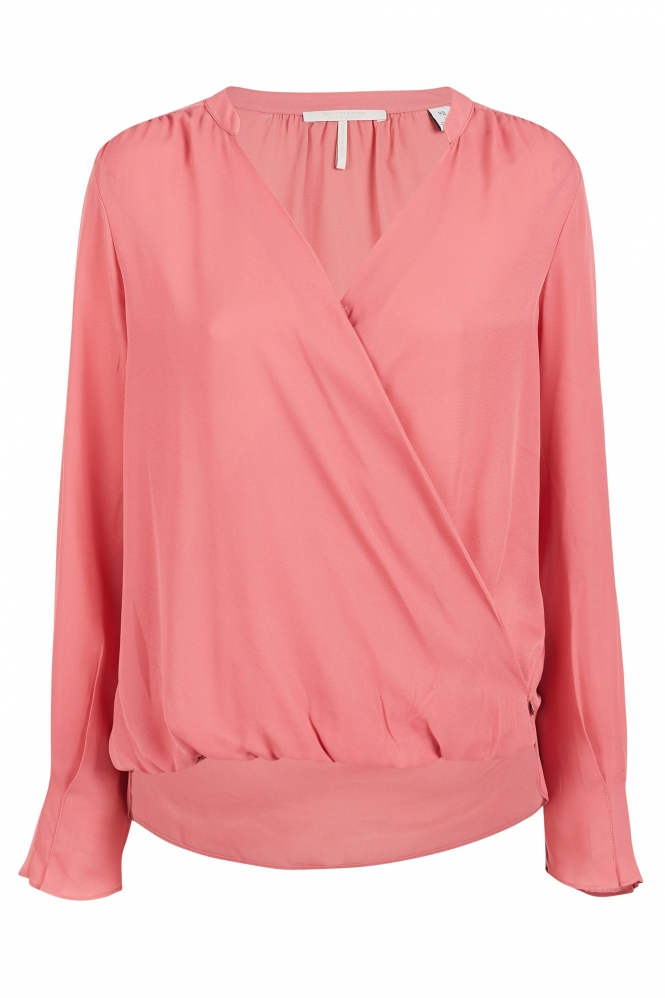 Roze dames blouse Maison Scotch - 149764