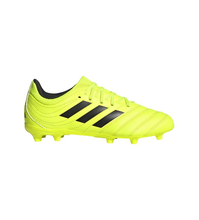 Gele voetbalschoen kinderen COPA 19.3 FG J - F35466