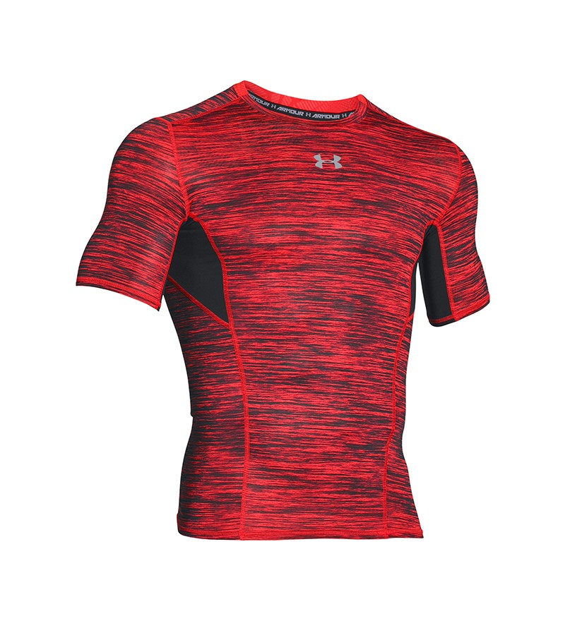 Rood Tshirt Under Armour 1271334 984