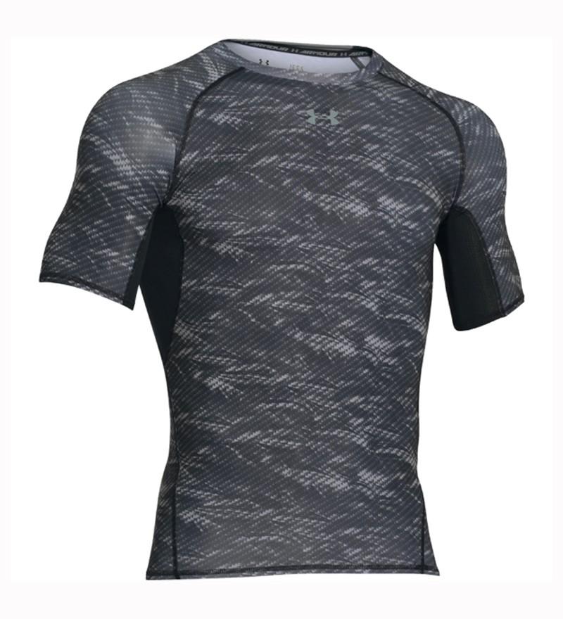 Grijze print Tshirt Under Armour 1257477 005