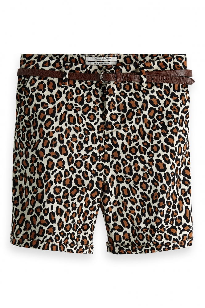 Geprinte chino dames short Maison Scotch - 151175