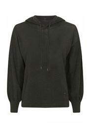 Zwarte dames hoodie glitter - 42408 Iris- 3537-0-92729