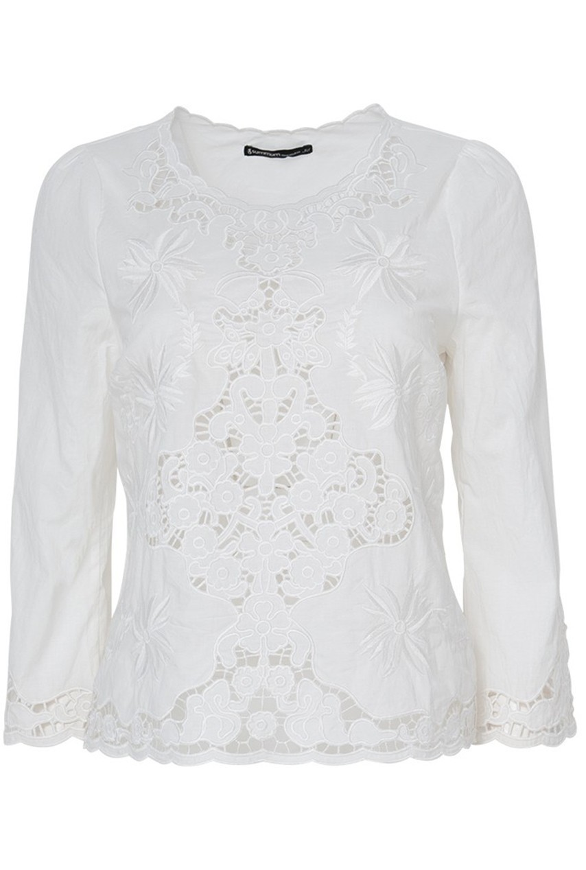 Witte dames blouse Summum - 2s1868