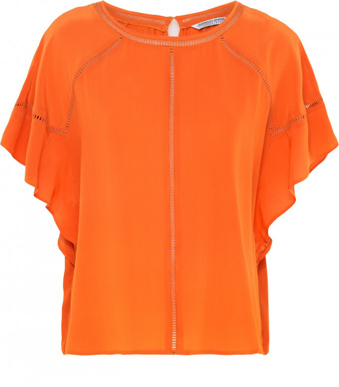 Oranje dames top Summum - 2s2051