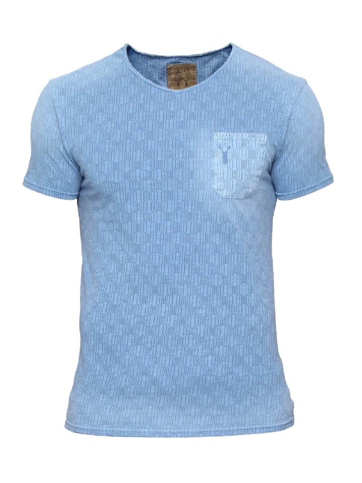 blauw shirt Pearly King Ridge