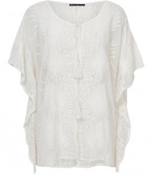 Witte blouse Summum 2s1682 000191