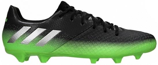 Zwart/Groen Voetbalschoen Adidas Messi 16.2 S79630
