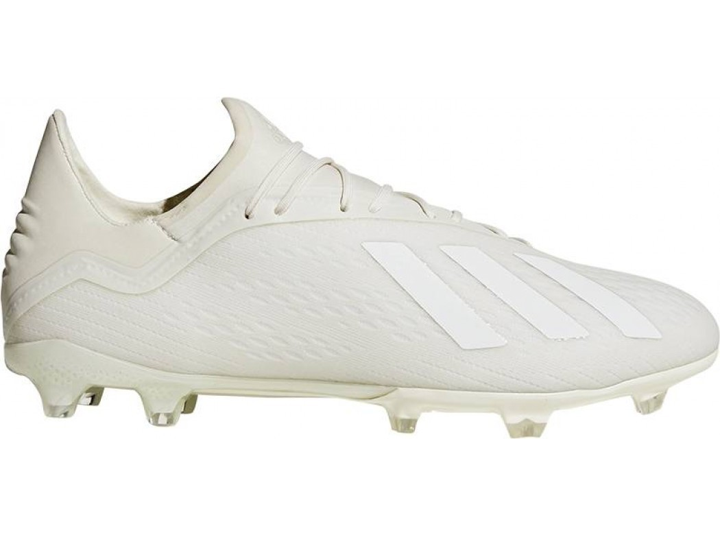 Roomwitte voetbalschoenen Adidas X 18.2 - DB2181