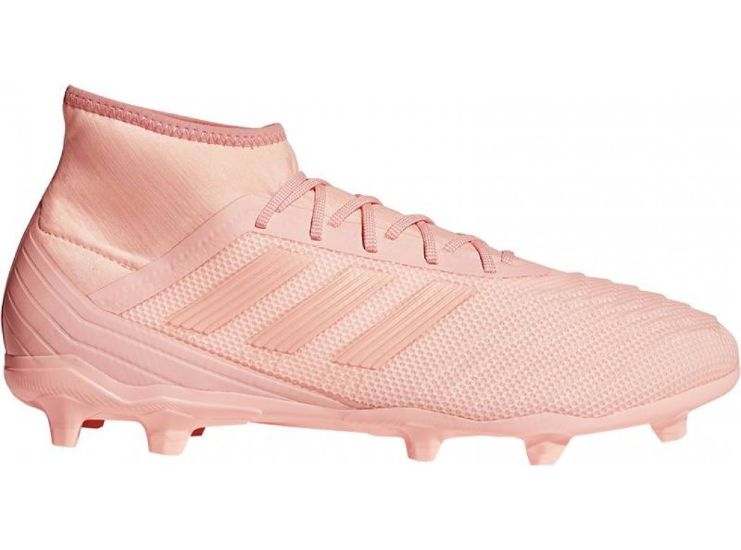 Roze voetbal schoen Adidas Predator 18.2 FG - DB1998