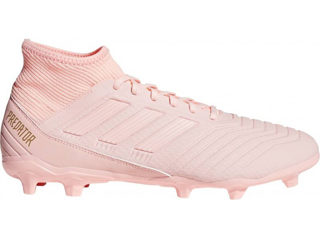 Roze voetbalschoen Adidas Predator 18.3 - DB2002