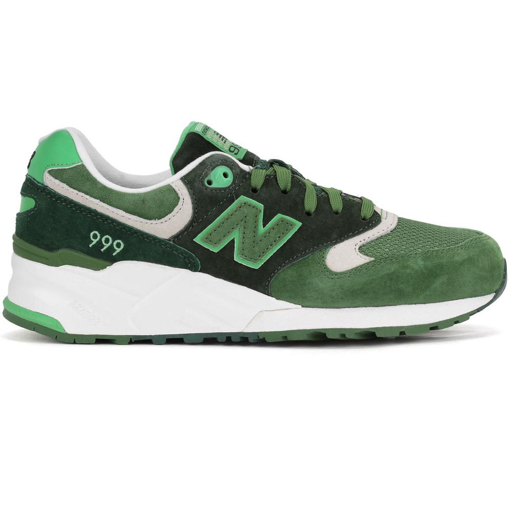 Groene New Balance sneaker ML999 RAM