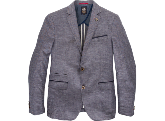 blauwe blazer Vanguard VJJ61351 5063
