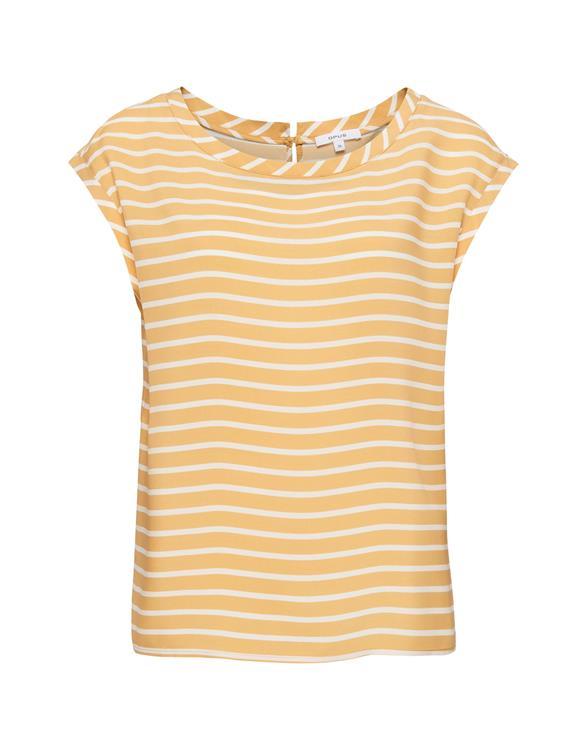 Geel dames shirt - Opus - faune - 5076
