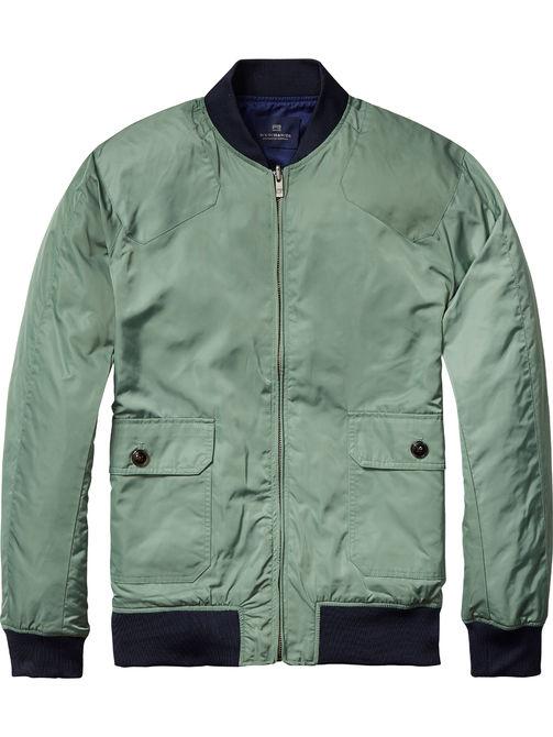groen paars omkeerbaar  bomberjack Scotch & Soda 130658 64