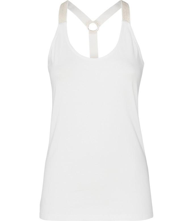 Creme witte dames top Summum - 3s4027