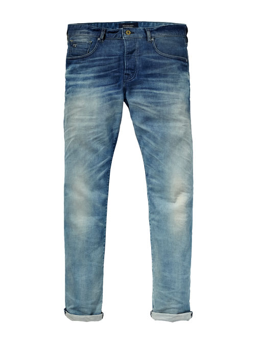 blauwe jeans Scotch & Soda 128054 48