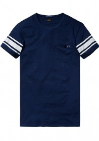 Tshirt donkerblauw Scotch & Soda 130850  49