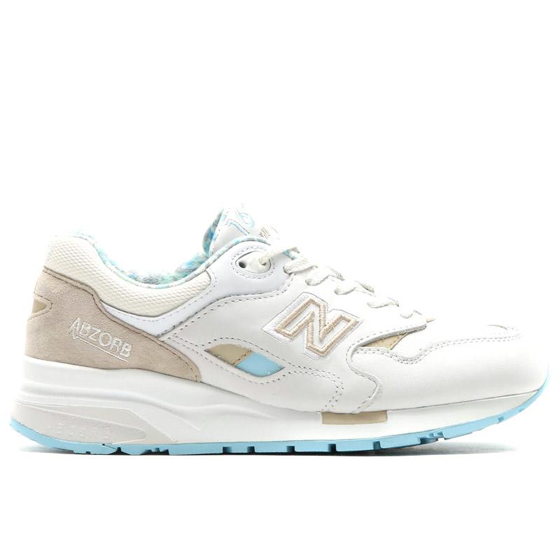 Wit blauwe dames sneaker New Balance CW1600 WB