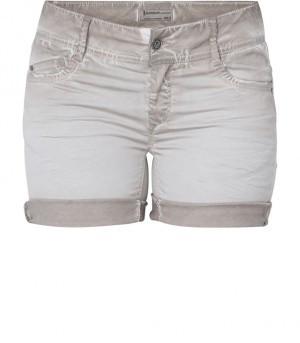 Beige korte dames broek Summum - 4s1382