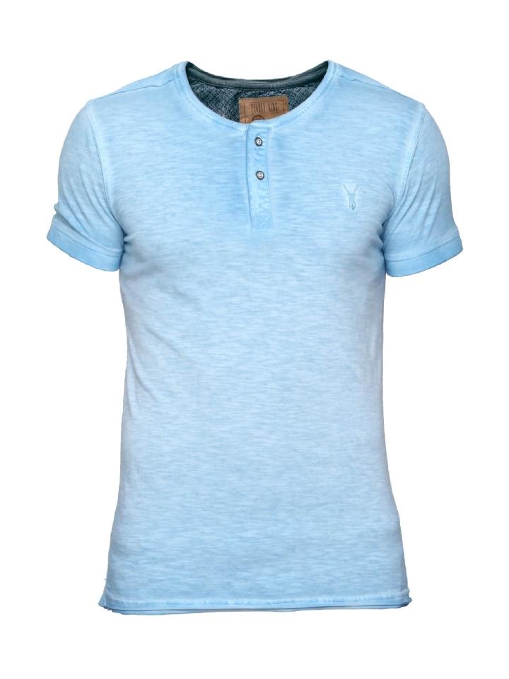 blauw shirt Pearly King Liberty Sky