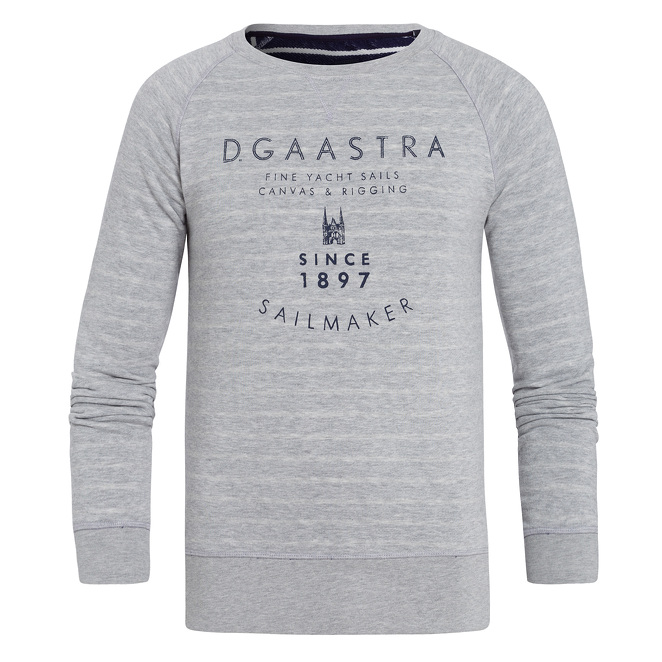 Grijze lange mouw sweater Gaastra Watersail