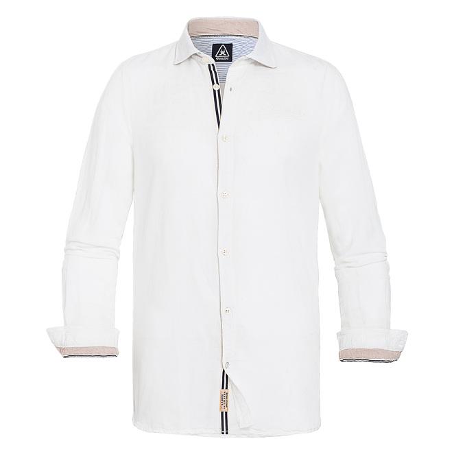 witte linnen overjemd Gaastra Mile