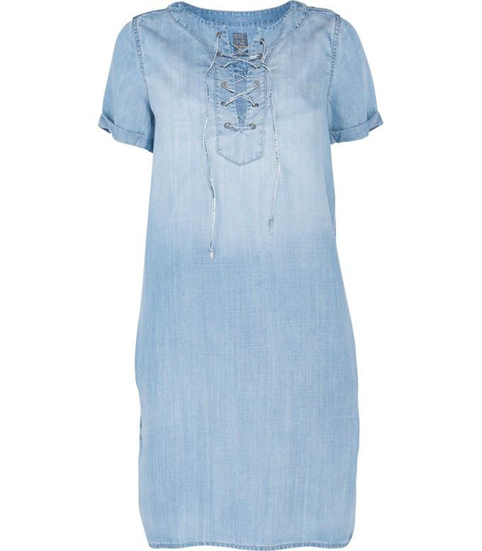 Blauwe denim dames jurk Summum - 5s820-10321