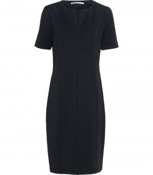 Zwarte dames jurk Summum - 5s899