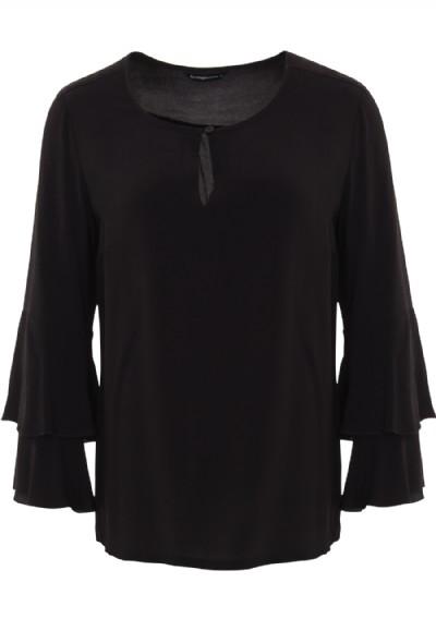 Zwarte dames blouse Summum - 2s1930