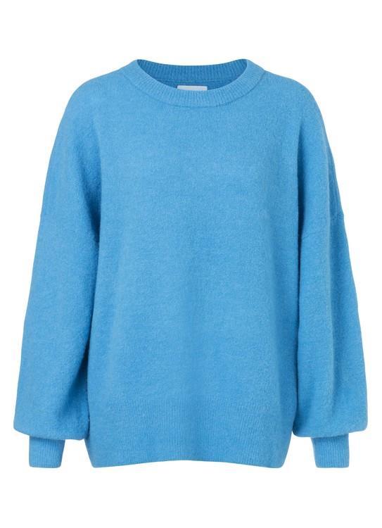 Blauwe dames trui YAYA - 100048-824
