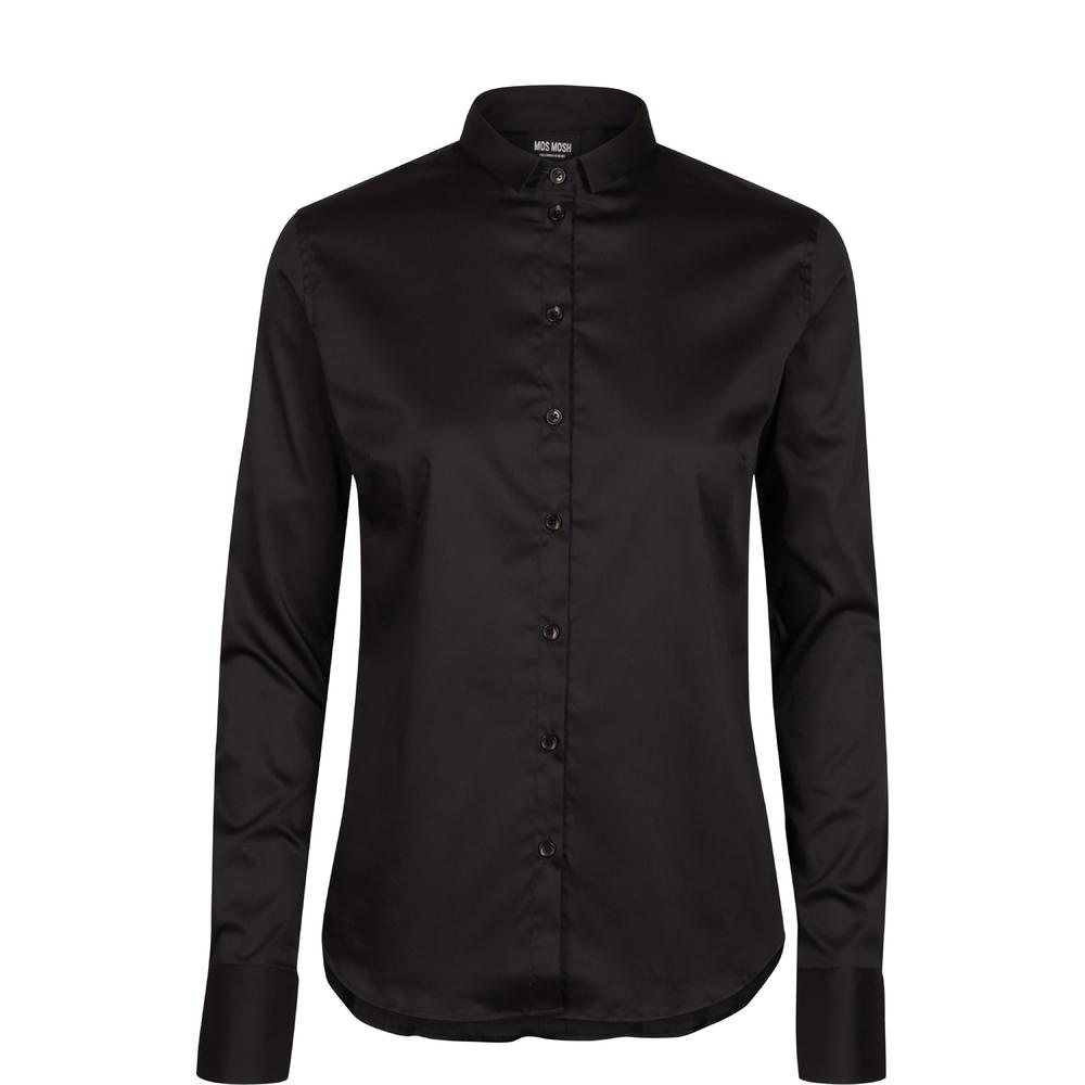 Zwarte dames blouse Mos Mosh - 130550-801