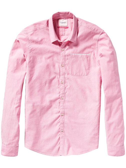 roze overhemd Scotch & Soda 128088 48
