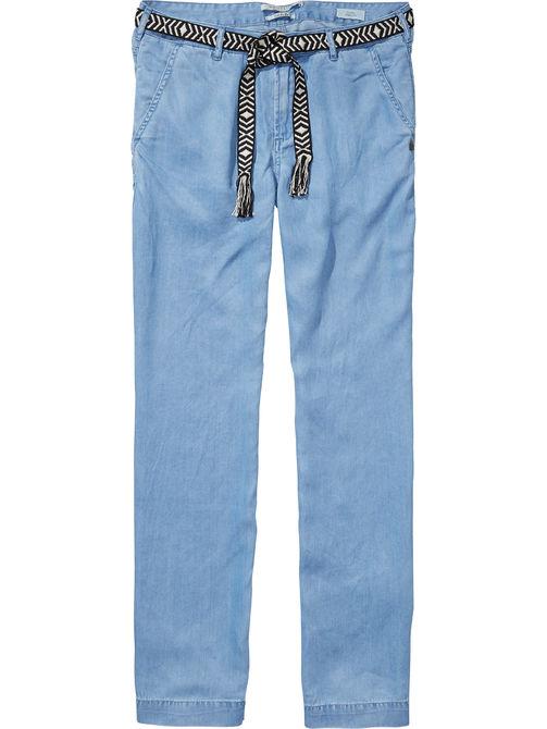 blauwe broek Maison Scotch 131460 61