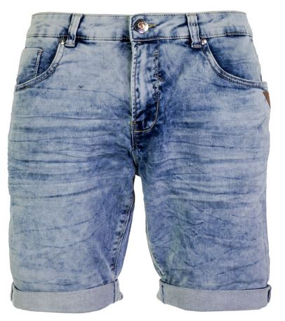 Lichtblauwe heren Short Cars Arizona Mens - 4962805