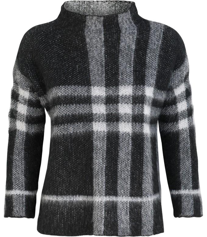 Zwart witte dames trui Summum - 7S5186-7573