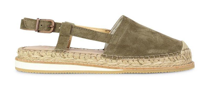 Groene dames sandaal Fred de la bretoniere  - 152010010