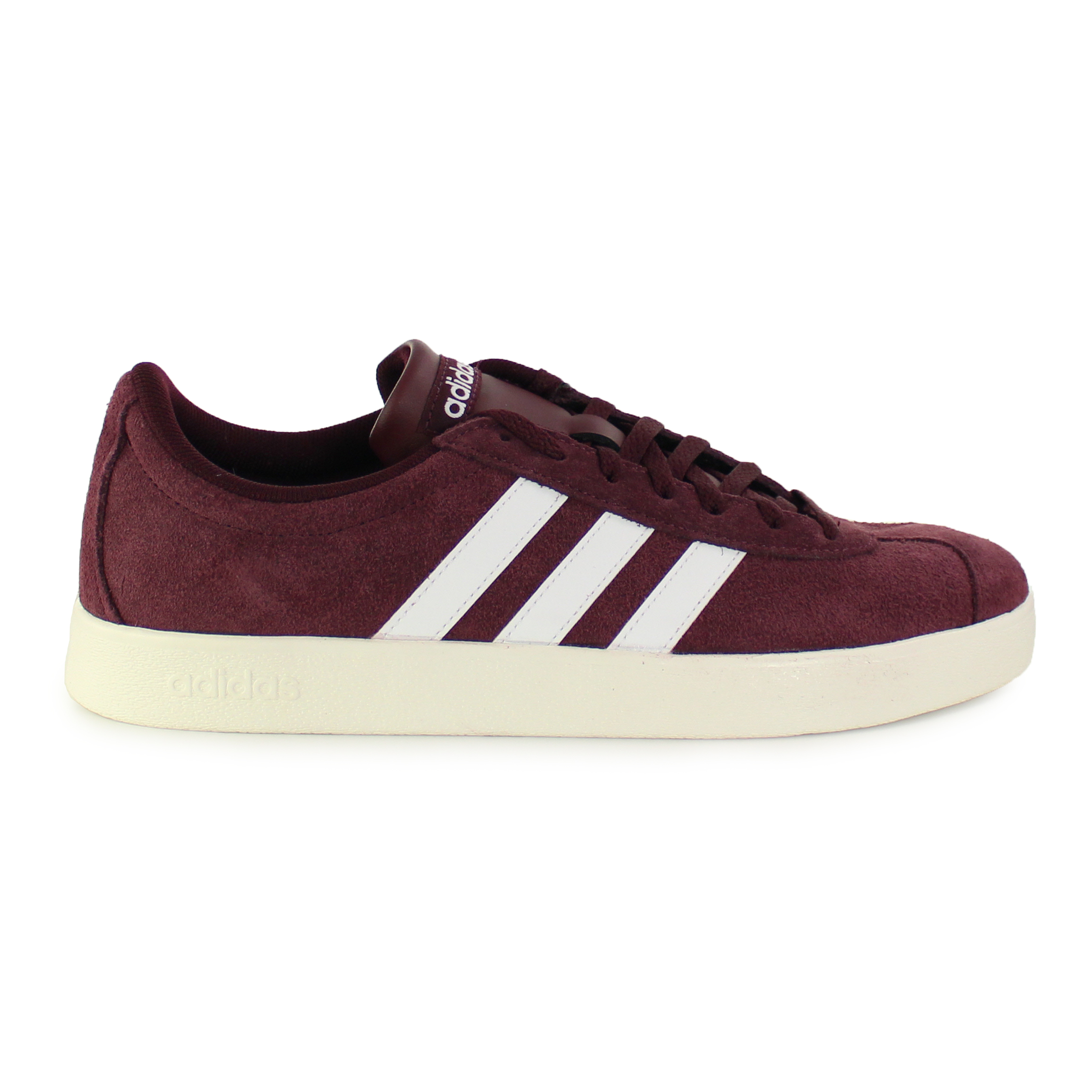 Bordeaux herenschoen Adidas VL COURT 2.0 - B4809