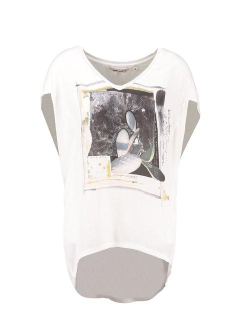 Wit dames shirt Garcia - e7005